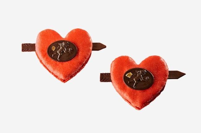 Amorino macaron San Valentín