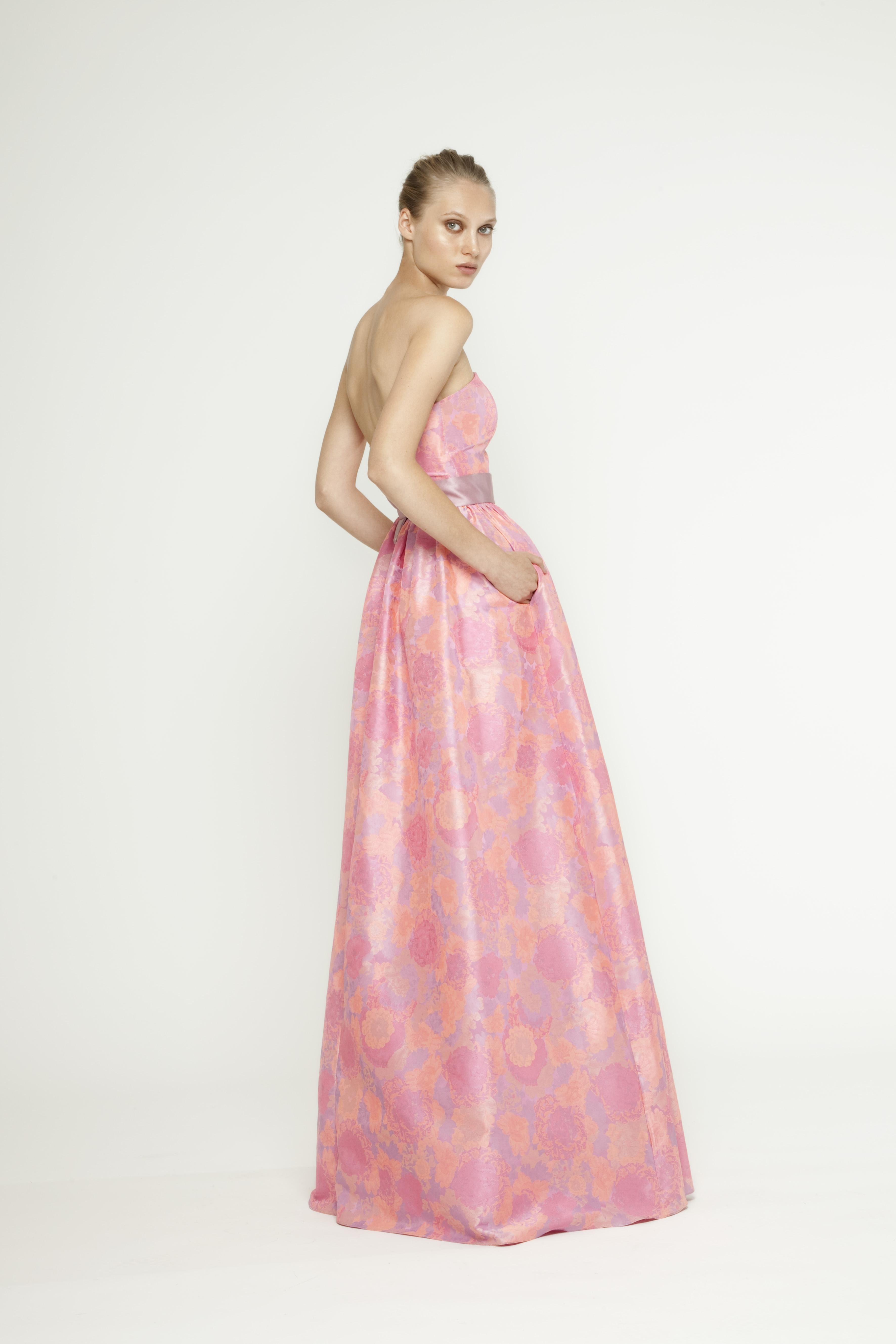 Bonito Amarillento Vestidos De Damas De Honor Patrón - Colección de ...