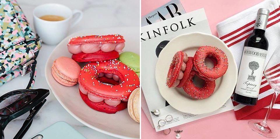 Macaron-donut