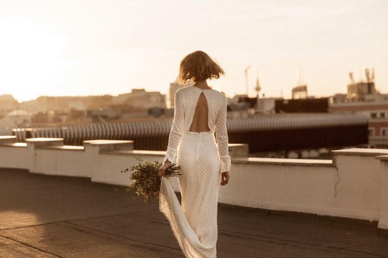 la primera colección de vestidos de novia de intropía es ideal