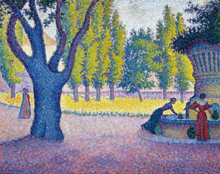 París fin de siécle: Signac, Redon, Toulouse-Lautrec y sus contemporáneos
