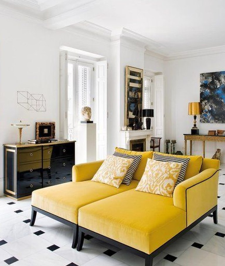 amarillo-chaiselong