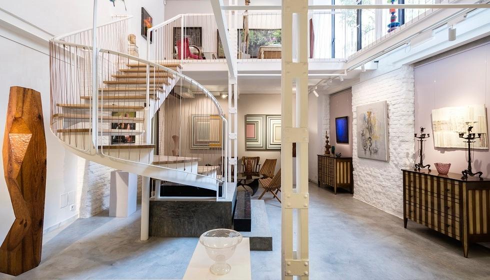 espacio tienda de Hans Hoetink en Madrid