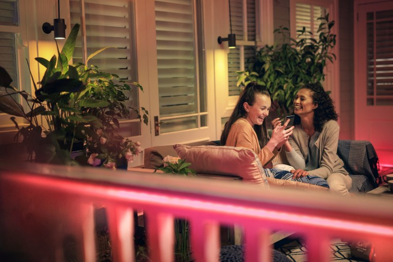 Hue Lightstrip outdoor lifestyle