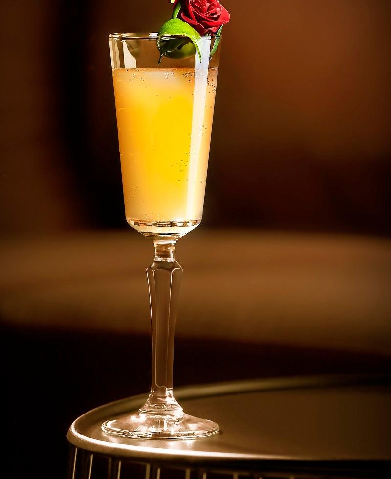Cöcteles con champagne Nochevieja