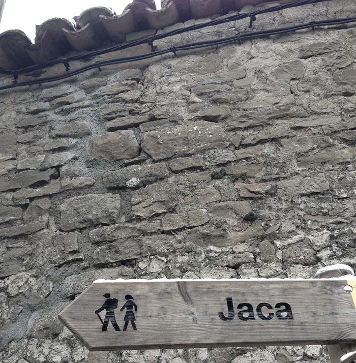 Camino de Santiago Jaca
