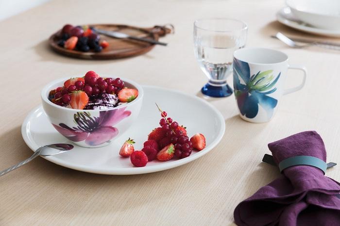 Desayunos con vajillas bonitas